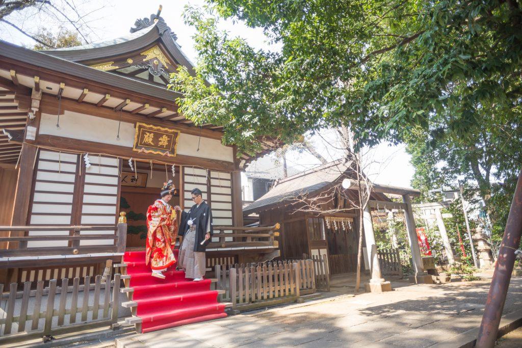 馬橋稲荷神社、ヒルトン東京