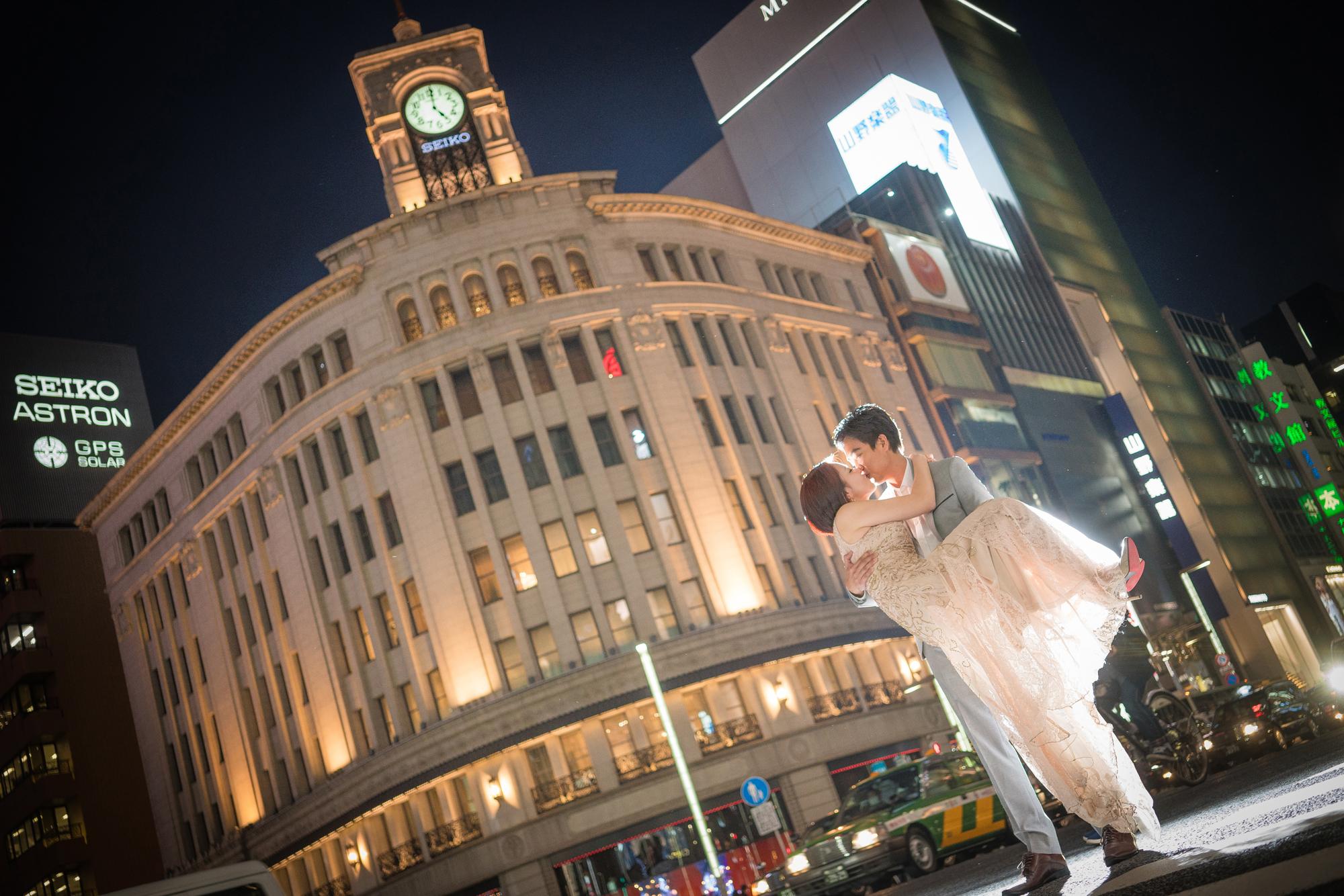 エンゲージメントフォト in Tokyo
