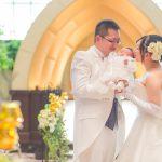 まぁるい円みたい(ホテルメトロポリタン盛岡で結婚式撮影)