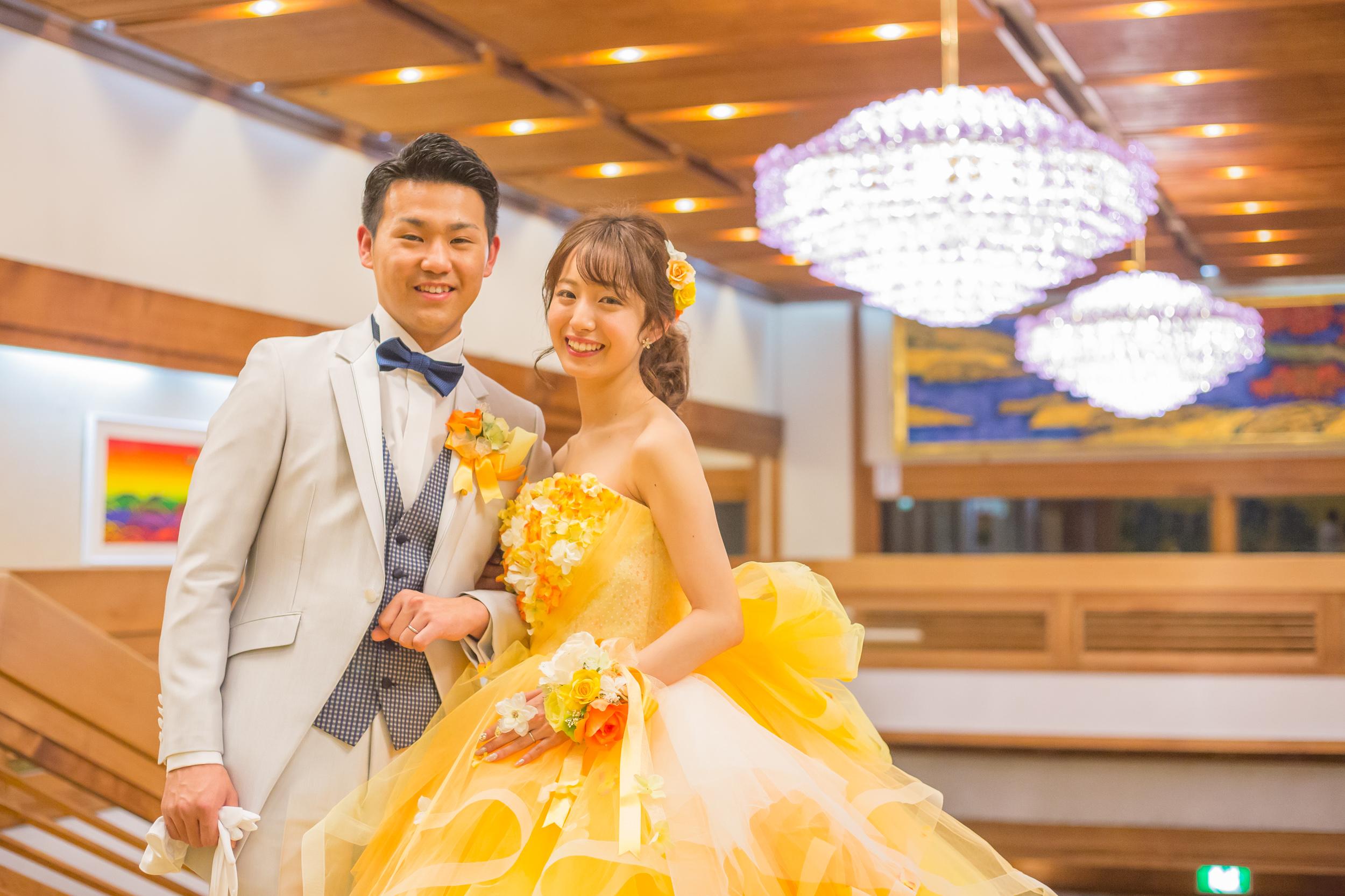 きょうもまっくす(グランドホテル東雲で結婚式撮影)
