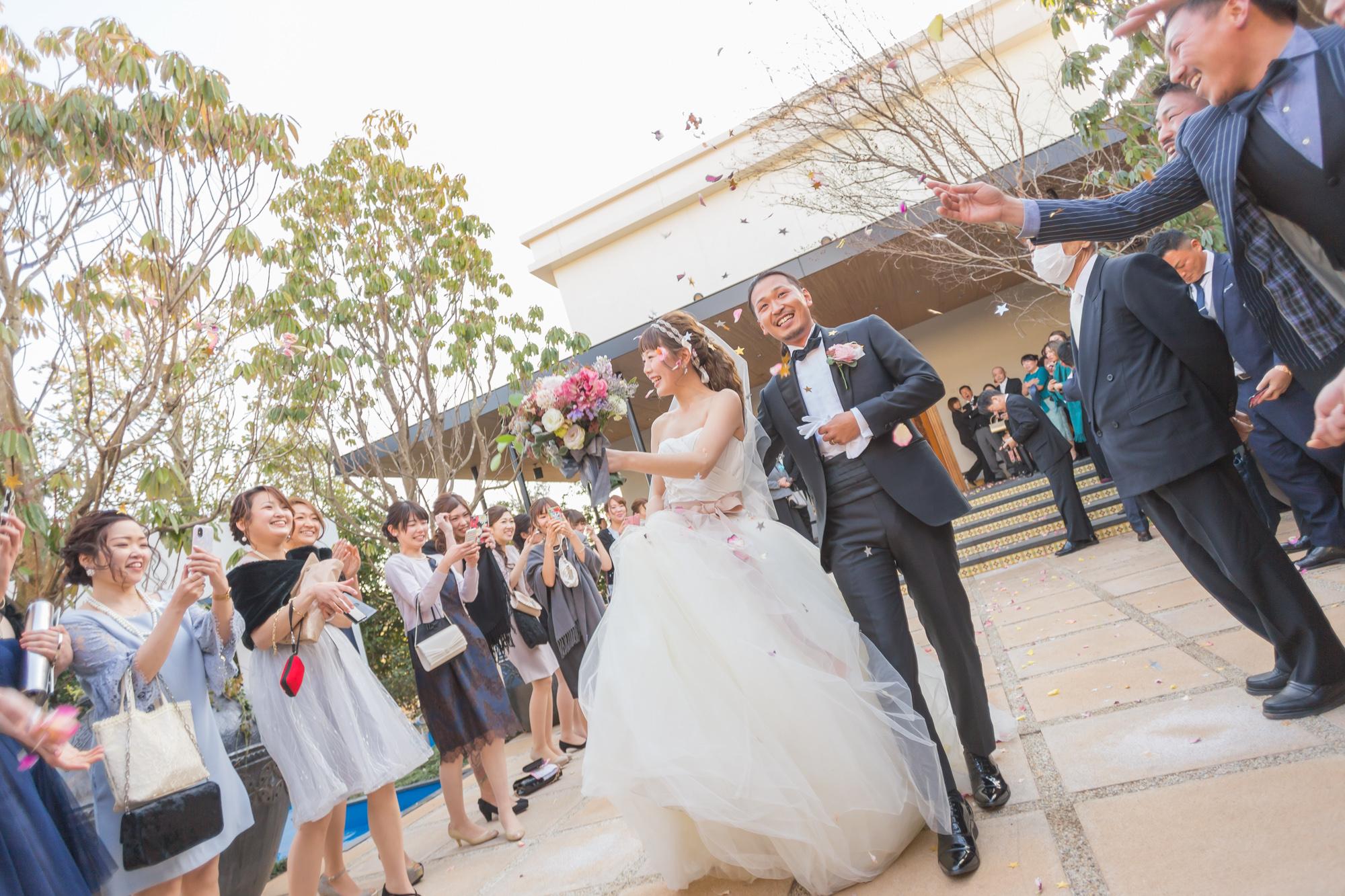 憧れの存在(ベルジャルダンで結婚式撮影)