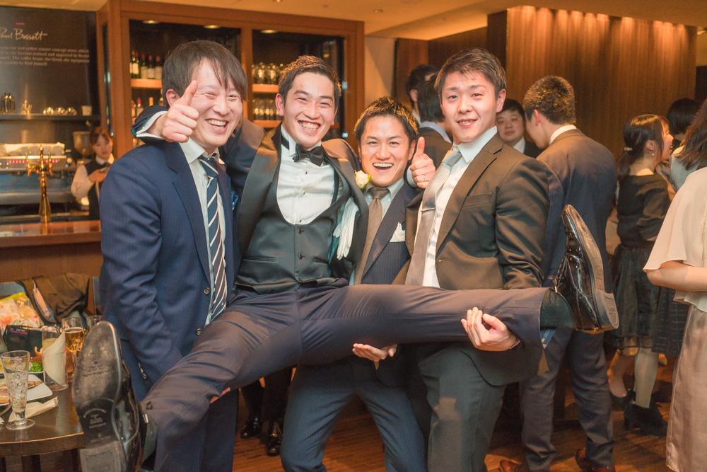 XEX TOKYOで結婚式二次会撮影