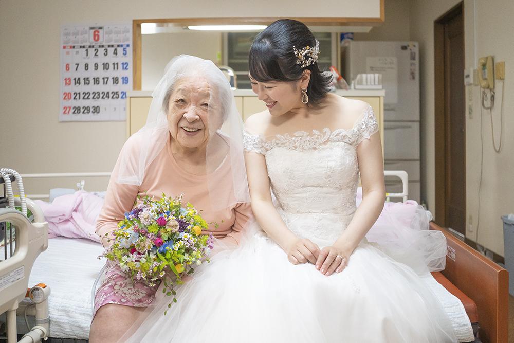 おばあちゃんとおよめさん。
